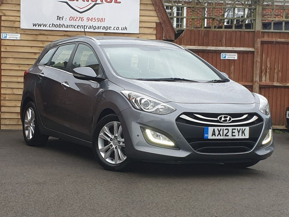 2012 Hyundai i30 1.6 CRDi Blue Drive Style 5dr (ISG) - Picture 1 of 30