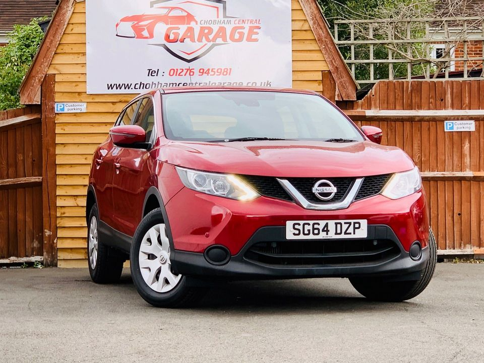 2014 Nissan Qashqai 1.5 dCi Visia (Smart Vision Pack) 5dr - Picture 10 of 28
