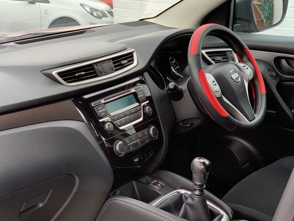 2014 Nissan Qashqai 1.5 dCi Visia (Smart Vision Pack) 5dr - Picture 14 of 28