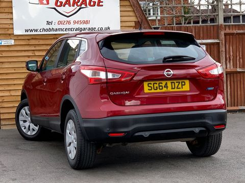 2014 Nissan Qashqai 1.5 dCi Visia (Smart Vision Pack) 5dr - Picture 6 of 28