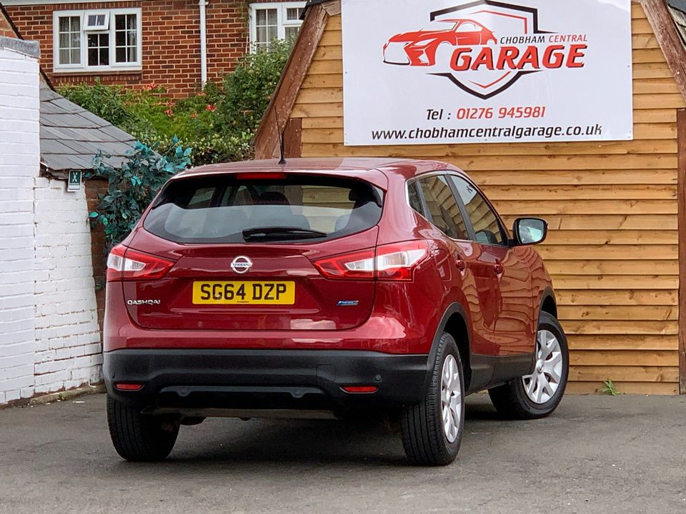 2014 Nissan Qashqai 1.5 dCi Visia (Smart Vision Pack) 5dr - Picture 9 of 28