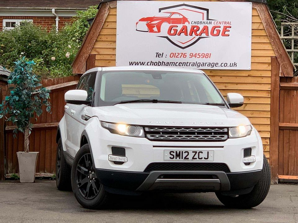 2012 Land Rover Range Rover Evoque 2.2 SD4 Pure AWD 5dr - Picture 1 of 31