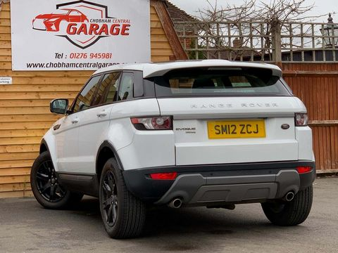 2012 Land Rover Range Rover Evoque 2.2 SD4 Pure AWD 5dr - Picture 7 of 31