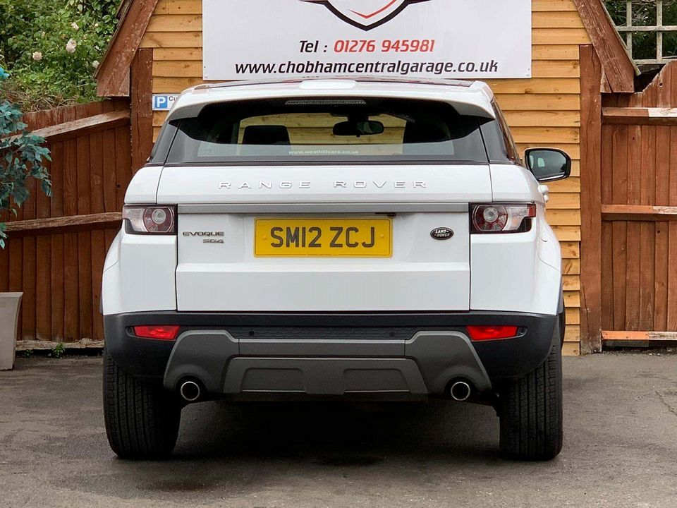 2012 Land Rover Range Rover Evoque 2.2 SD4 Pure AWD 5dr - Picture 8 of 31