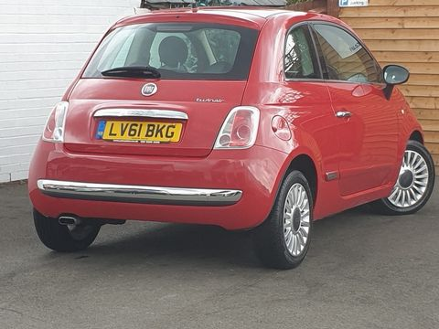 2011 Fiat 500 0.9 TwinAir Lounge (s/s) 3dr - Picture 11 of 32