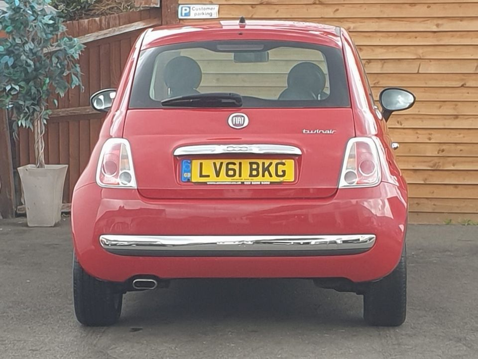 2011 Fiat 500 0.9 TwinAir Lounge (s/s) 3dr - Picture 14 of 32