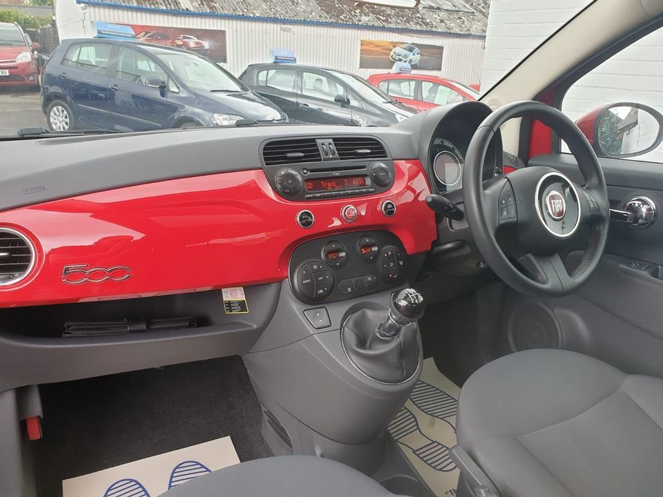 2011 Fiat 500 0.9 TwinAir Lounge (s/s) 3dr - Picture 15 of 32