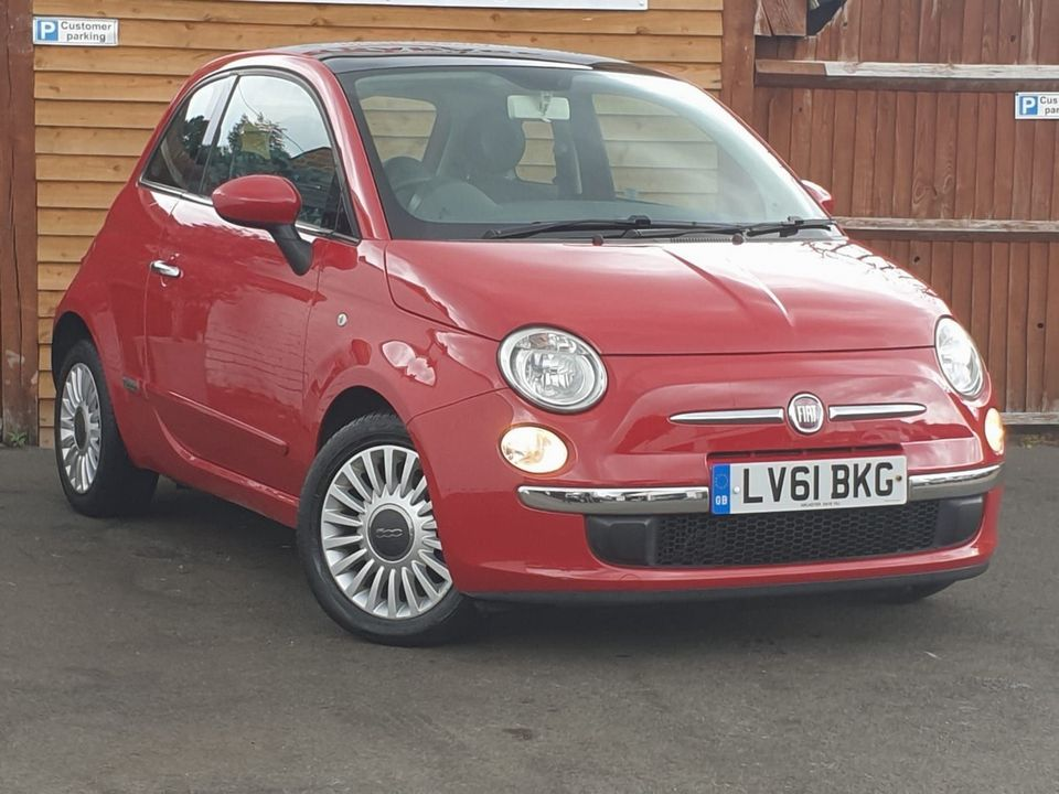 2011 Fiat 500 0.9 TwinAir Lounge (s/s) 3dr - Picture 1 of 32