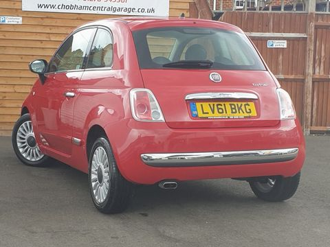 2011 Fiat 500 0.9 TwinAir Lounge (s/s) 3dr - Picture 8 of 32
