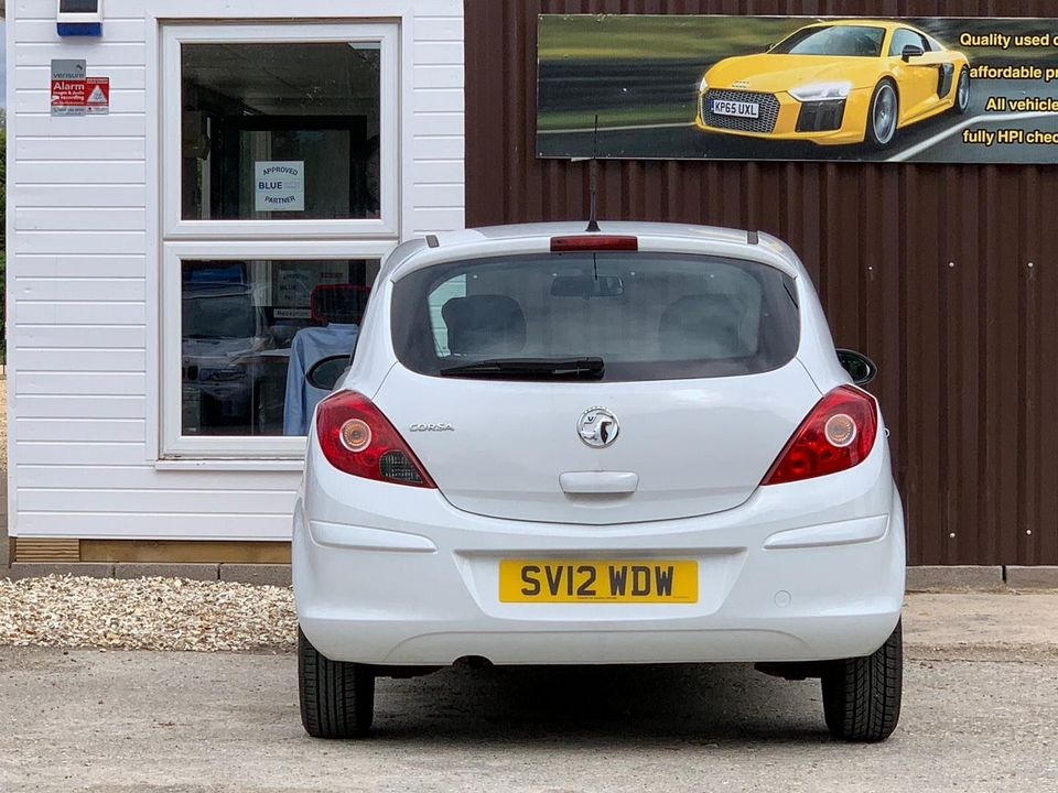 2012 Vauxhall Corsa 1.0 i ecoFLEX 12v S 3dr - Picture 5 of 11