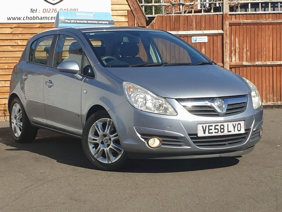 2008 Vauxhall Corsa 1.4 i 16v Design 5dr (a/c) - Picture 1 of 26