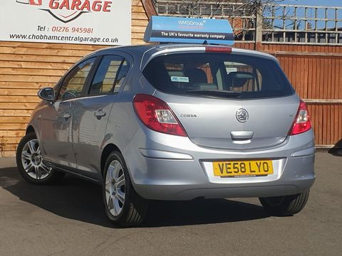 2008 Vauxhall Corsa 1.4 i 16v Design 5dr (a/c) - Picture 7 of 26