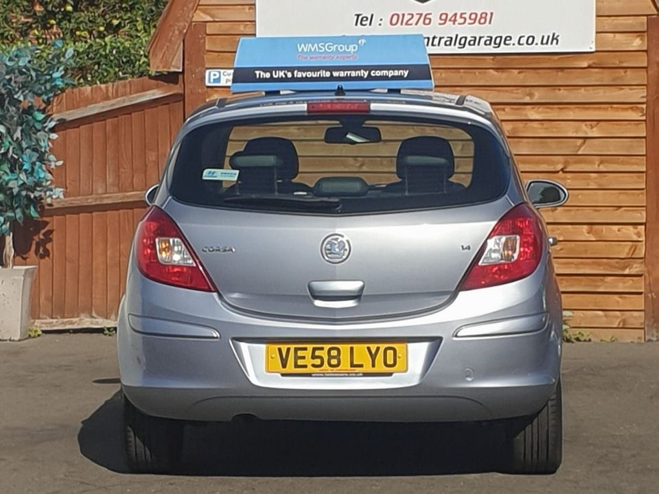 2008 Vauxhall Corsa 1.4 i 16v Design 5dr (a/c) - Picture 8 of 26