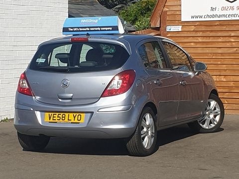 2008 Vauxhall Corsa 1.4 i 16v Design 5dr (a/c) - Picture 9 of 26