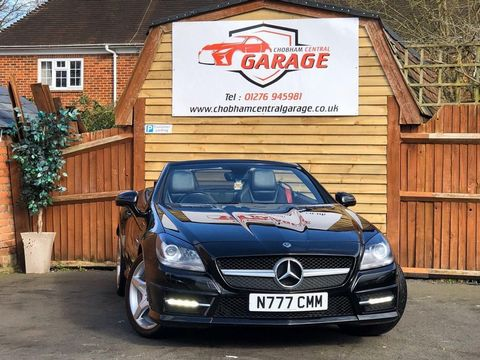 2012 Mercedes-Benz SLK 2.1 SLK250 CDI BlueEFFICIENCY AMG Sport 7G-Tronic Plus (s/s) 2dr
