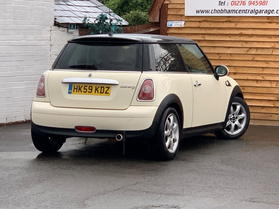 2009 MINI Hatch 1.6 Cooper D 3dr - Picture 7 of 23
