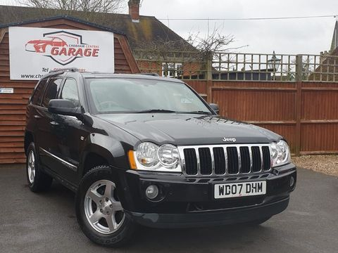 2007 Jeep Grand Cherokee 3.0 CRD V6 Limited 4x4 5dr