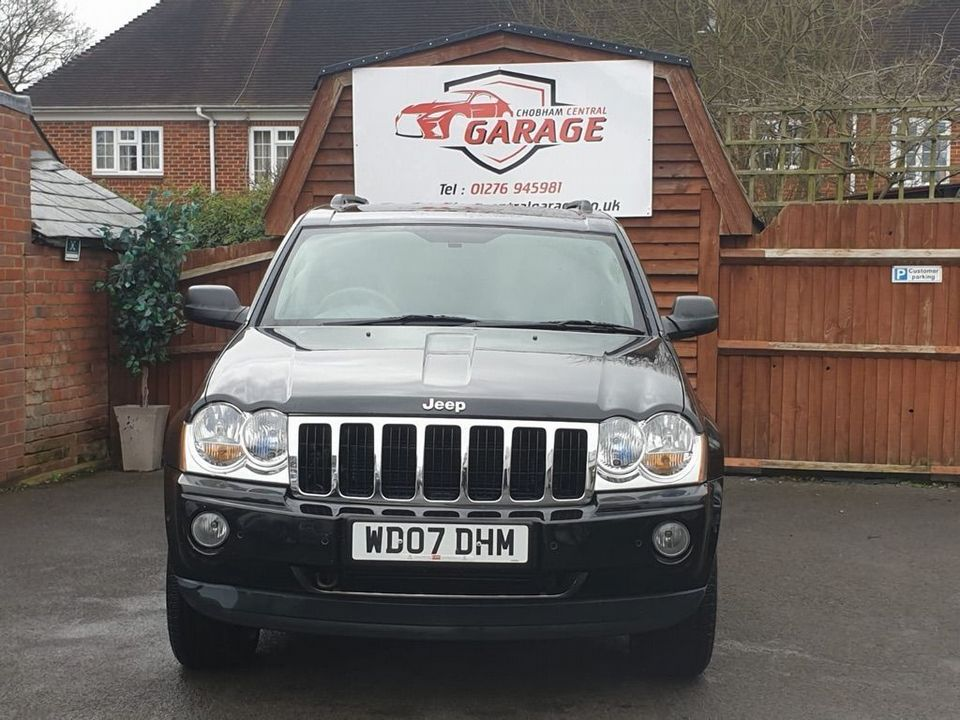 2007 Jeep Grand Cherokee 3.0 CRD V6 Limited 4x4 5dr - Picture 3 of 22
