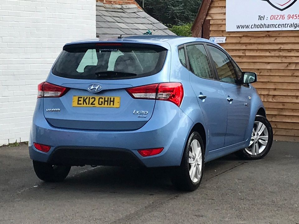 2012 Hyundai ix20 1.6 CRDi Blue Drive Active 5dr - Picture 6 of 33