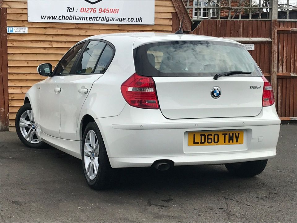 2010 BMW 1 Series 2.0 116d SE 5dr - Picture 7 of 28