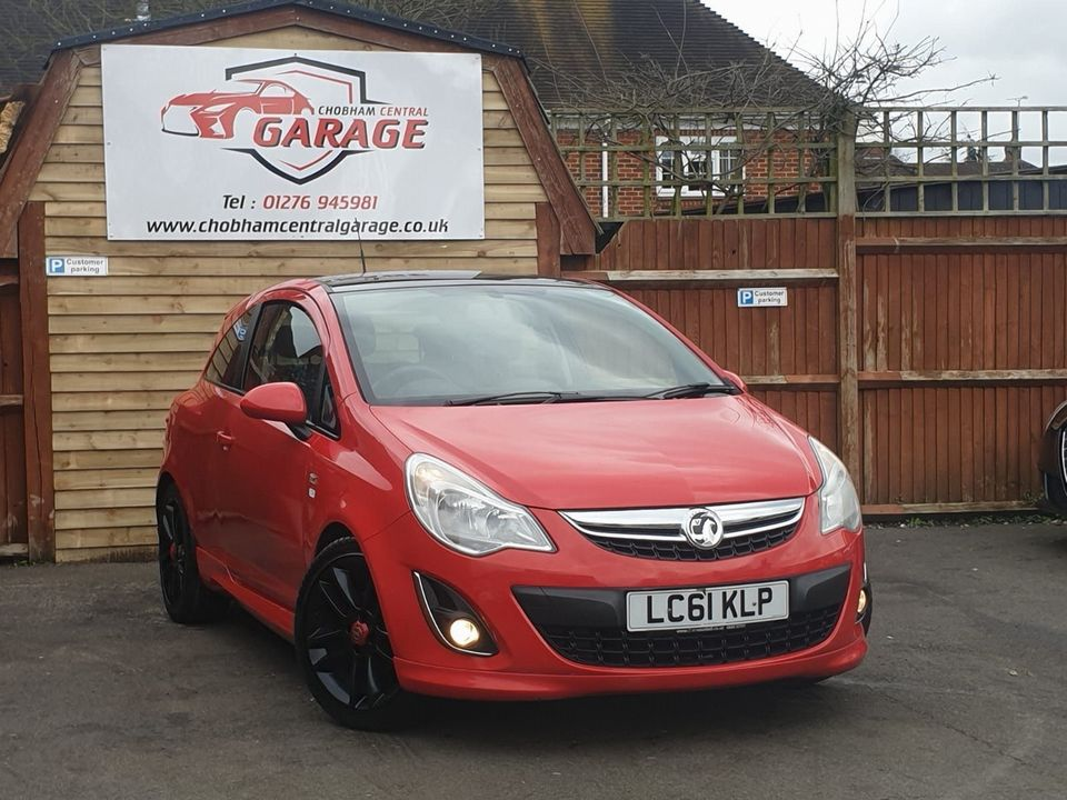 2011 Vauxhall Corsa 1.2 i 16v Limited Edition 3dr (a/c) - Picture 1 of 23