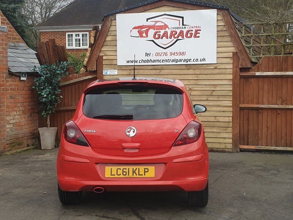 2011 Vauxhall Corsa 1.2 i 16v Limited Edition 3dr (a/c) - Picture 6 of 23