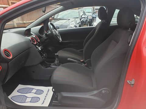 2011 Vauxhall Corsa 1.2 i 16v Limited Edition 3dr (a/c) - Picture 9 of 23