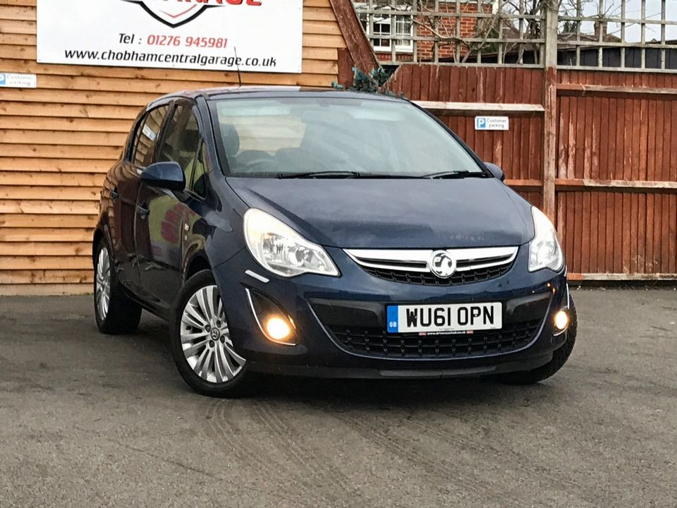 2011 Vauxhall Corsa 1.2 i 16v Excite 5dr - Picture 1 of 27