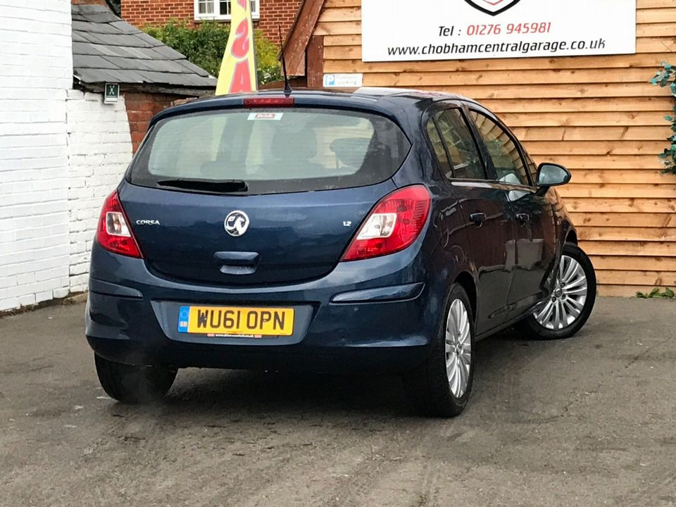 2011 Vauxhall Corsa 1.2 i 16v Excite 5dr - Picture 8 of 27