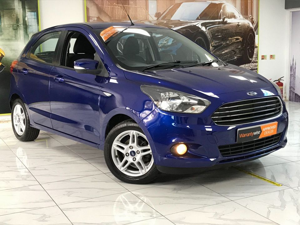2017 Ford Ka+ 1.2 Ti-VCT Zetec 5dr - Picture 1 of 33