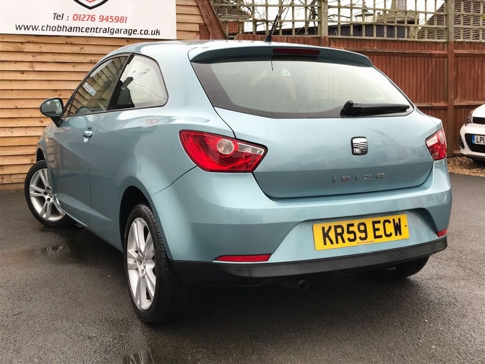 2009 SEAT Ibiza 1.6 16v Sport SportCoupe 3dr - Picture 9 of 28