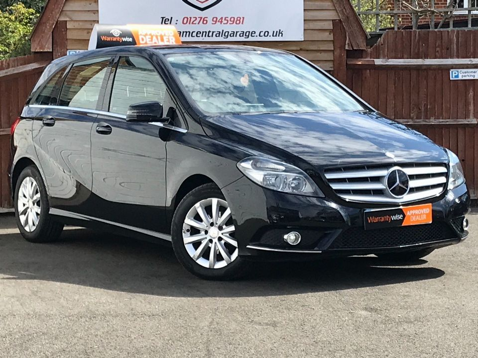 2013 Mercedes-Benz B Class 1.8 B180 CDI BlueEFFICIENCY SE 7G-DCT (s/s) 5dr - Picture 1 of 39