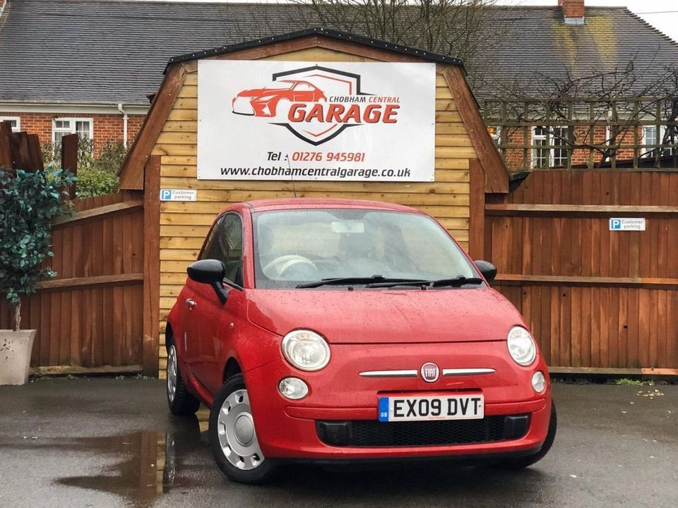 2009 Fiat 500 1.2 Pop 3dr - Picture 1 of 22