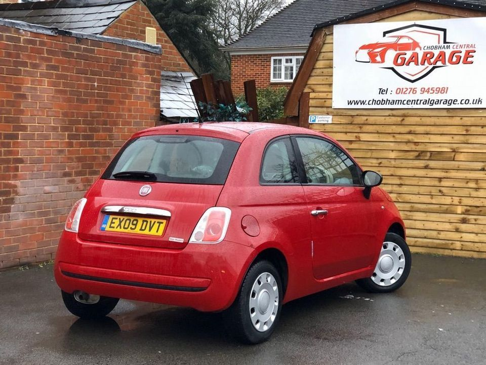 2009 Fiat 500 1.2 Pop 3dr - Picture 13 of 28