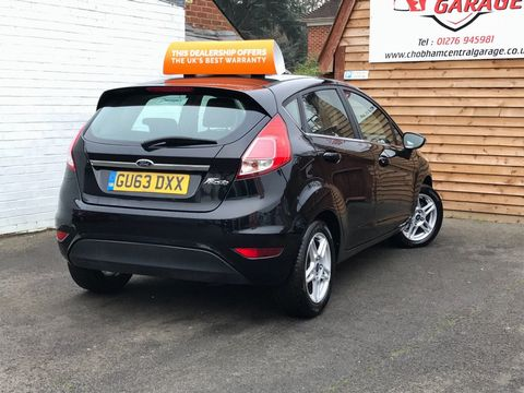 2013 Ford Fiesta 1.25 Zetec 5dr - Picture 6 of 26