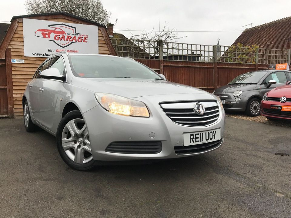 2011 Vauxhall Insignia 2.0 CDTi 16v Exclusiv 5dr - Picture 1 of 26
