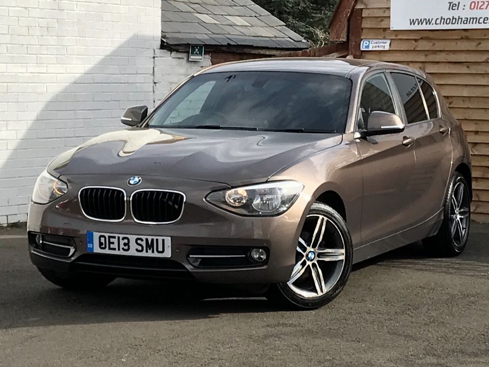 2013 BMW 1 Series 2.0 118d Sport Sports Hatch (s/s) 5dr - Picture 5 of 31