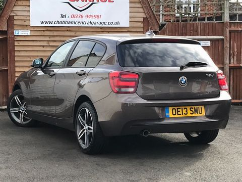2013 BMW 1 Series 2.0 118d Sport Sports Hatch (s/s) 5dr - Picture 6 of 31