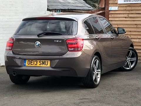 2013 BMW 1 Series 2.0 118d Sport Sports Hatch (s/s) 5dr - Picture 8 of 31