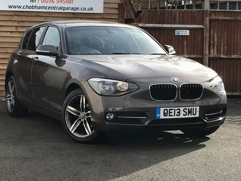 2013 BMW 1 Series 2.0 118d Sport Sports Hatch (s/s) 5dr - Picture 1 of 38