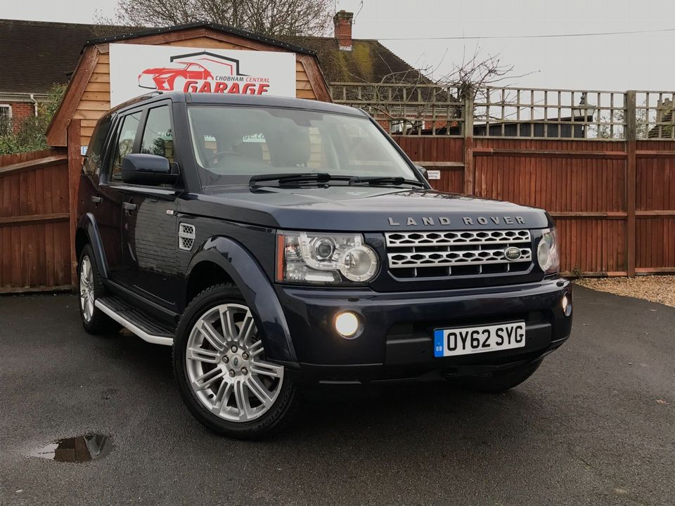 2012 Land Rover Discovery 4 3.0 SD V6 HSE 5dr - Picture 1 of 46