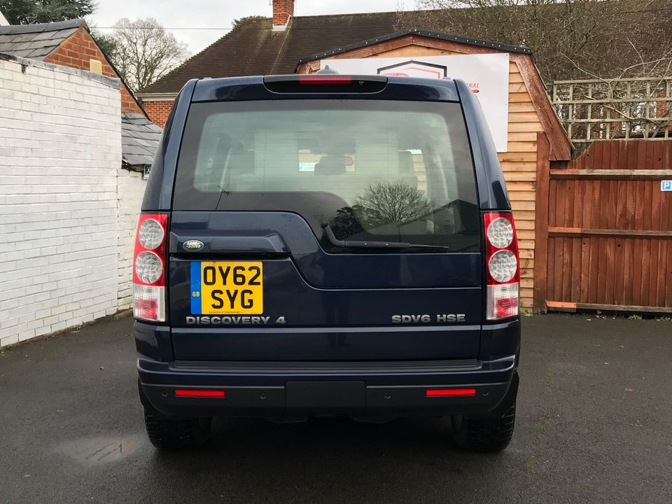 2012 Land Rover Discovery 4 3.0 SD V6 HSE 5dr - Picture 7 of 46