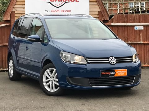 2012 Volkswagen Touran 1.6 TDI SE 5dr (7 Seats) - Picture 1 of 27