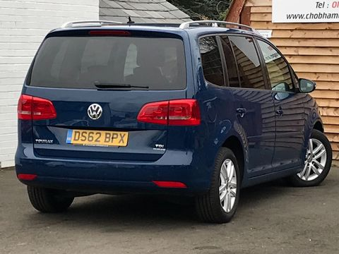 2012 Volkswagen Touran 1.6 TDI SE 5dr (7 Seats) - Picture 6 of 27