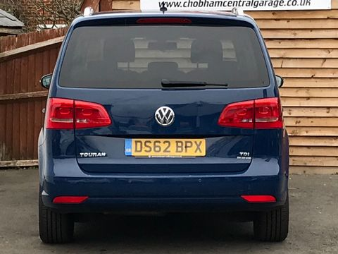 2012 Volkswagen Touran 1.6 TDI SE 5dr (7 Seats) - Picture 7 of 30