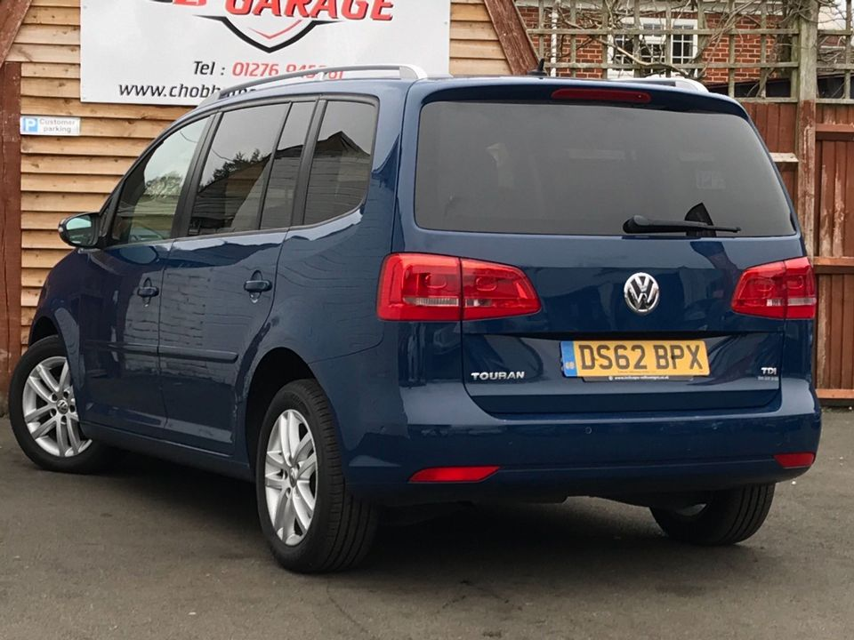 2012 Volkswagen Touran 1.6 TDI SE 5dr (7 Seats) - Picture 9 of 30