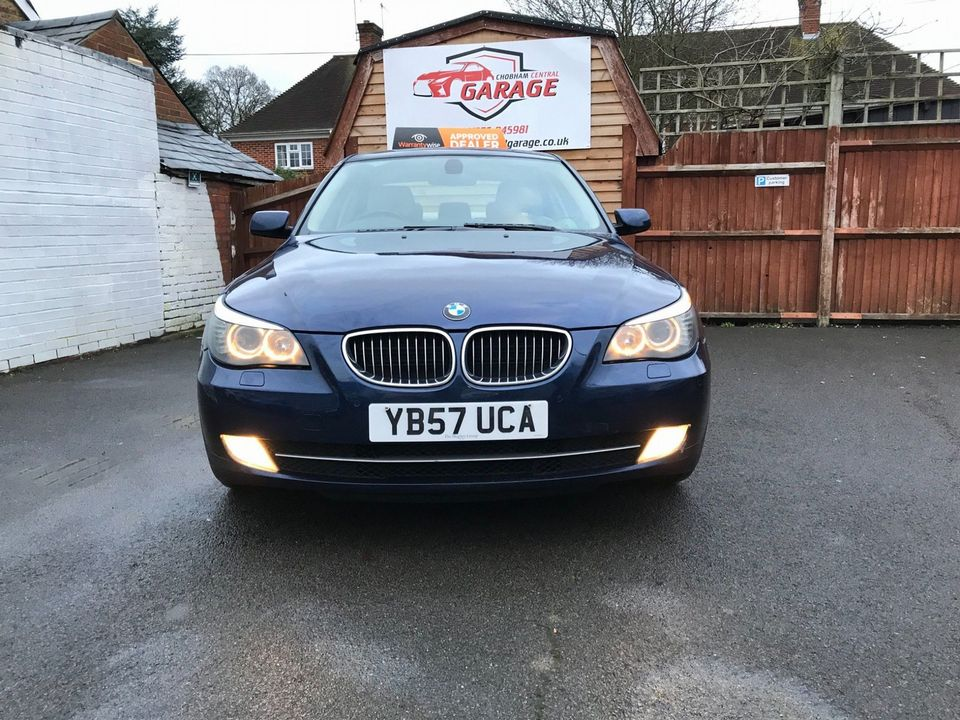 2008 BMW 5 Series 3.0 530i SE 4dr - Picture 3 of 36