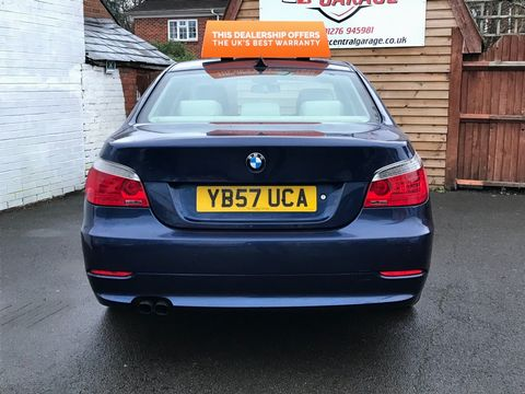 2008 BMW 5 Series 3.0 530i SE 4dr - Picture 9 of 36