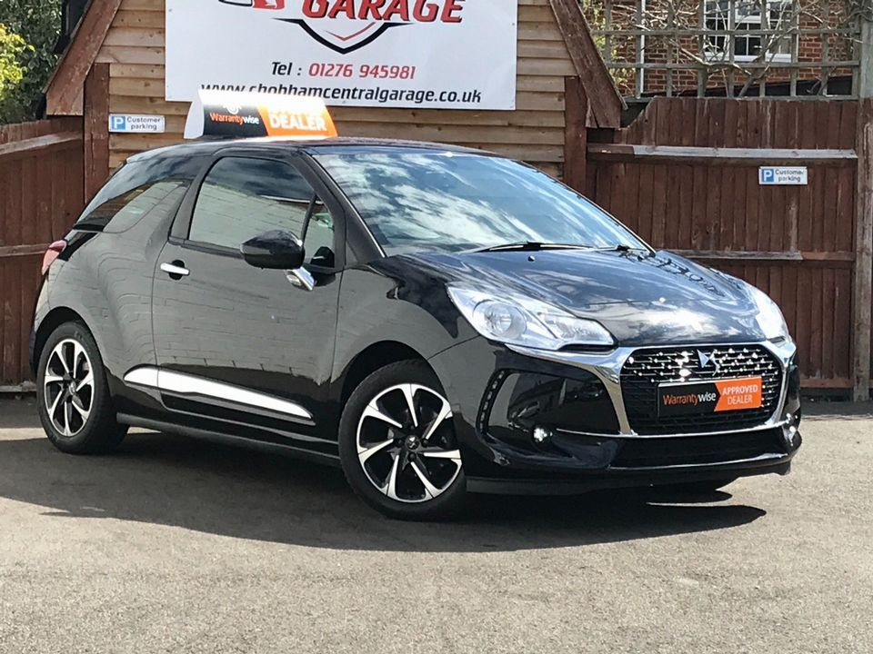 2016 DS AUTOMOBILES DS 3 1.6 BlueHDi Elegance (s/s) 3dr - Picture 1 of 31