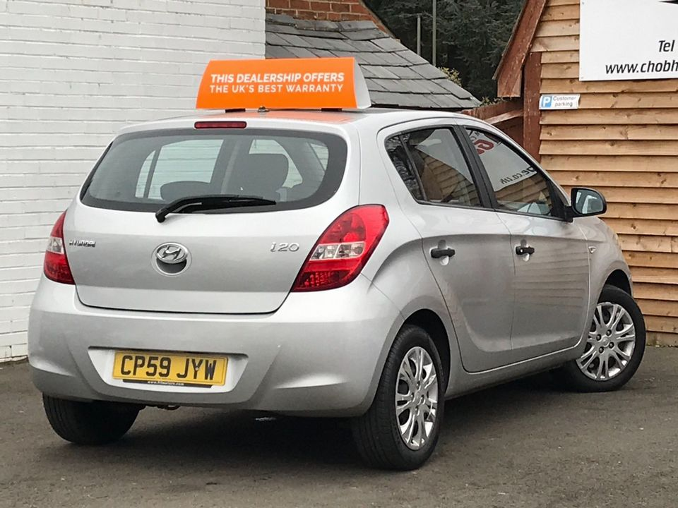 2009 Hyundai i20 1.2 Classic 5dr - Picture 6 of 26